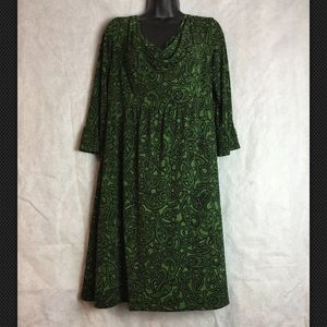 Madison Leigh Dress Lined Long Sleeve Size 12